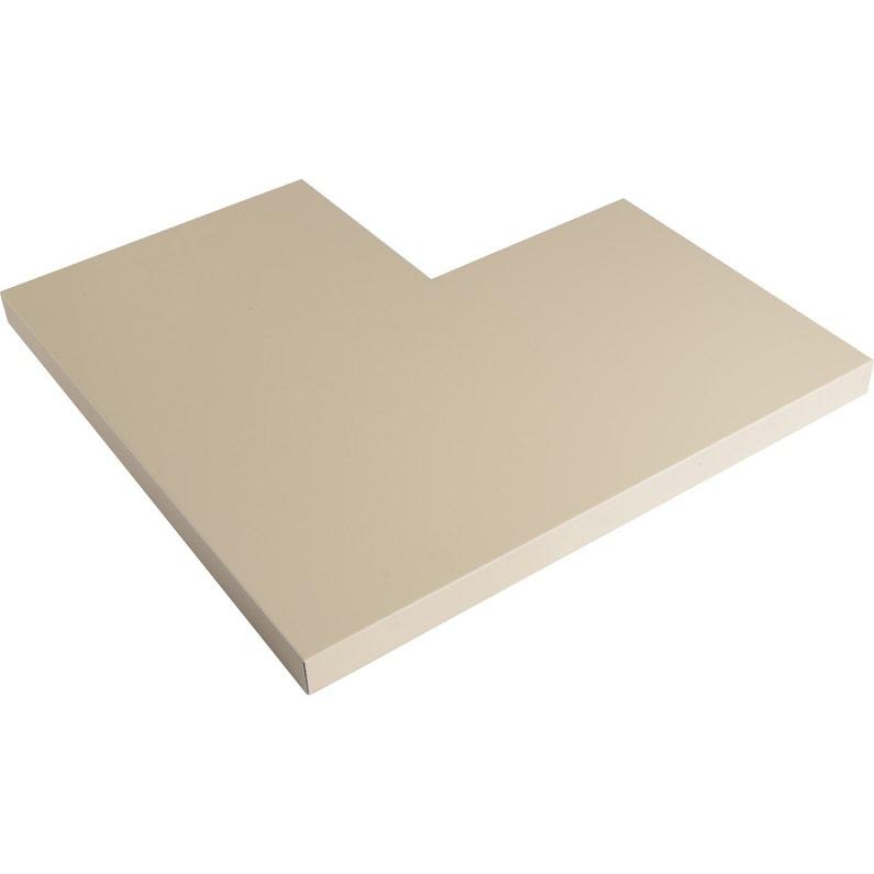 Angle Pour Couvertine Aluminium 30 X 270 Scover Plus Sable L045 M