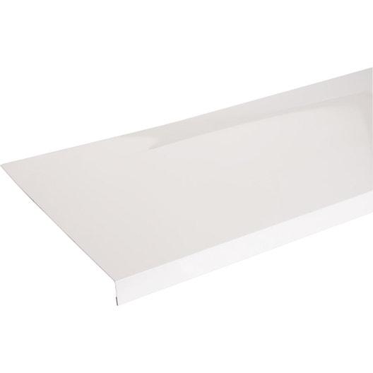 appui de fen tre aluminium 30 x 250 scover plus blanc l 1 5 m leroy merlin. Black Bedroom Furniture Sets. Home Design Ideas