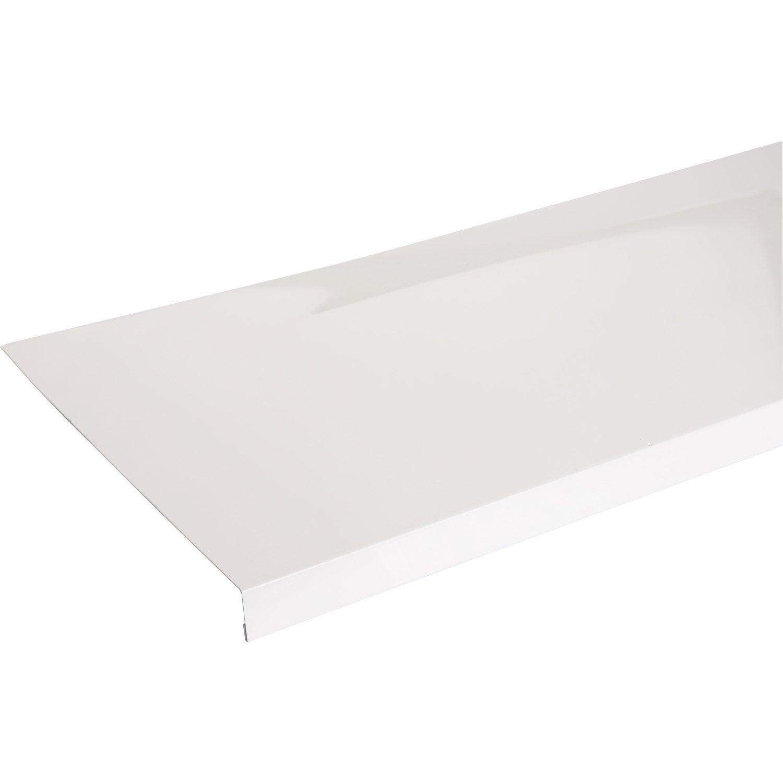 Appui De Fenêtre Aluminium 30 X 250 Scover Plus Blanc L15 M