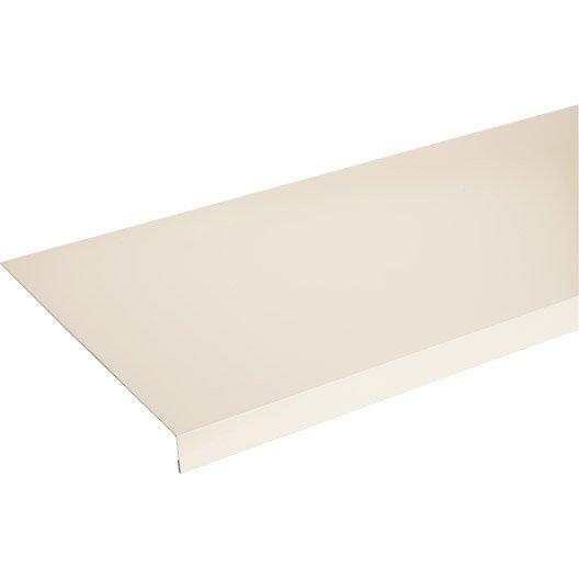 appui de fenêtre aluminium 30 x 250 scover plus sable l.1.5 m