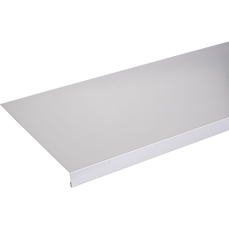 Bord De Fenetre Interieur appui de fenêtre aluminium 30 x 250 scover plus gris l.1.5 m