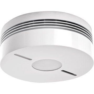 2 détecteurs de fumée interconnectables + détecteur sans fil DIAGRAL,10 ans