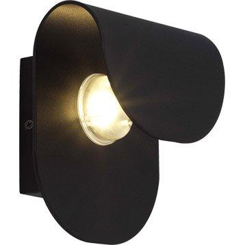 Applique extérieure Rosario LED intégrée 4 W = 270 Lm, noir INSPIRE