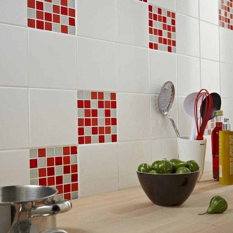 Faence Mur Blanc N0 Brillant Astuce L15 X L