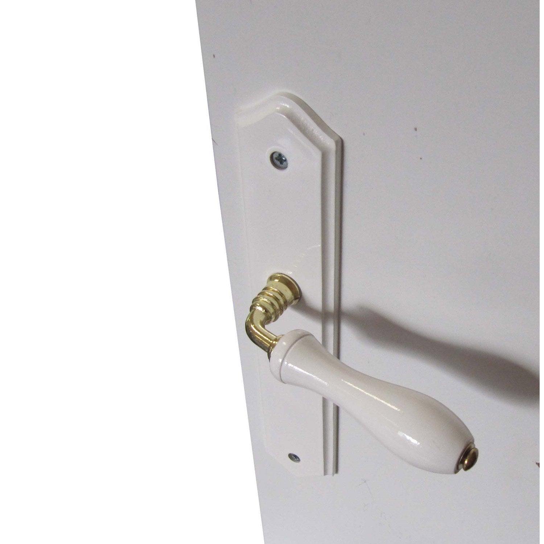 2 poign es de porte bois sans trou bois 195 mm leroy merlin. Black Bedroom Furniture Sets. Home Design Ideas
