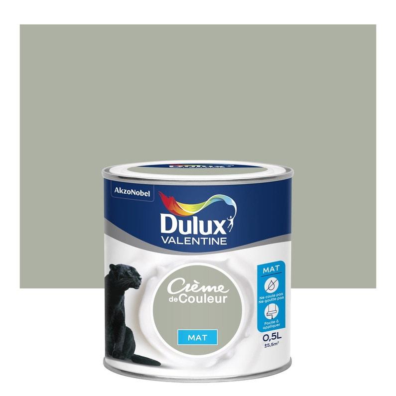 Peinture Beige Saule Mat Dulux Valentine Crème De Couleur 0 5 L