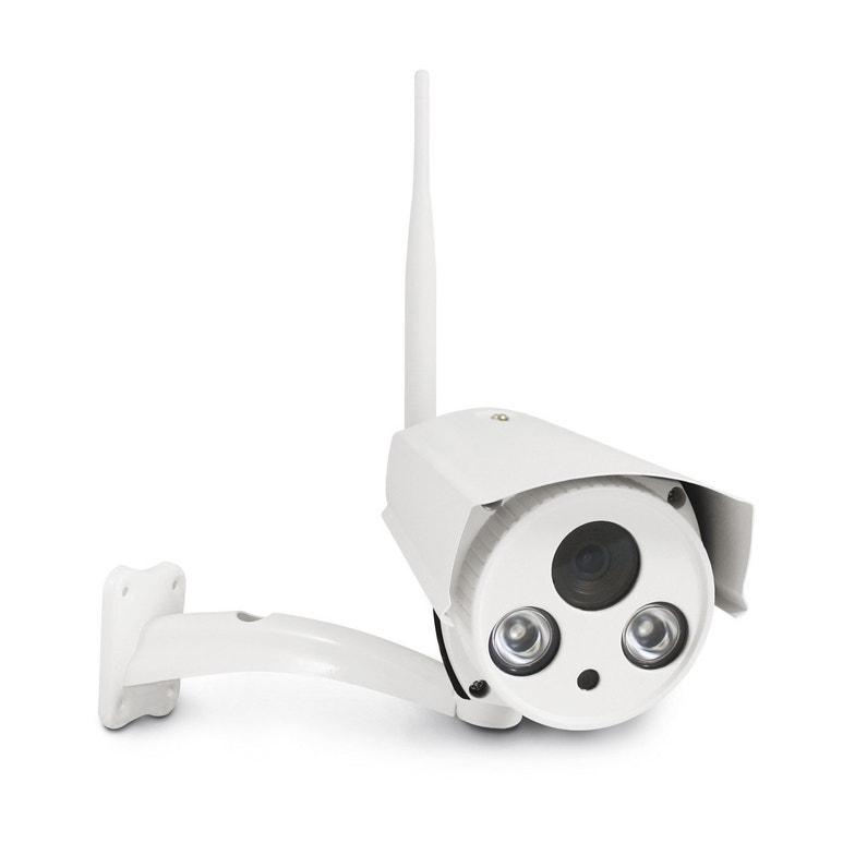 Caméra connectée Visia 7 AVIDSEN   Leroy Merlin 21a8f2fa9a58
