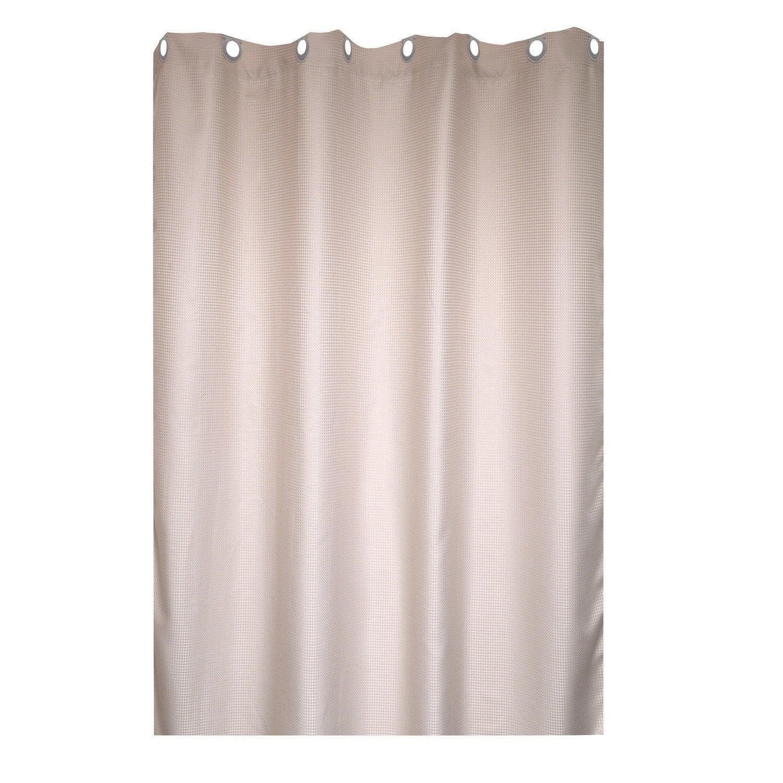 Rideau de douche en textile trench n°6 l.180 x H.200 cm, Maya SENSEA