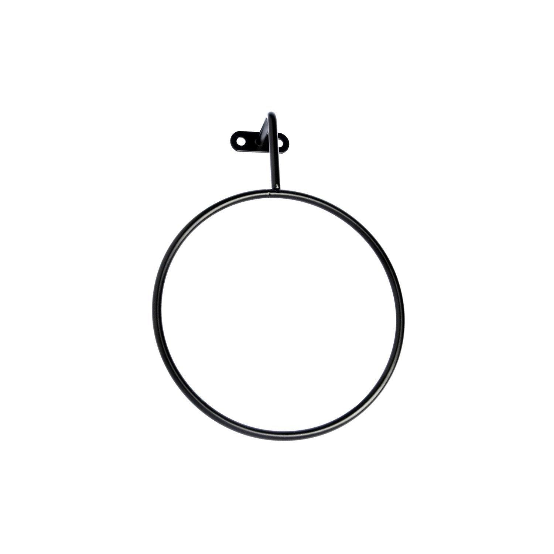 Porte-serviettes métal anneau