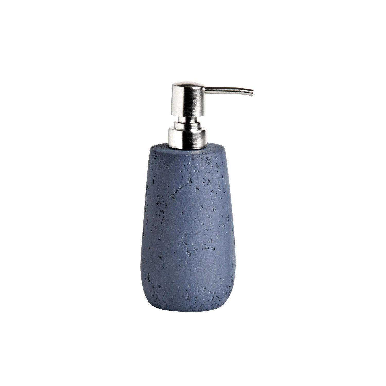 Distributeur de savon céramique Cancun, bleu