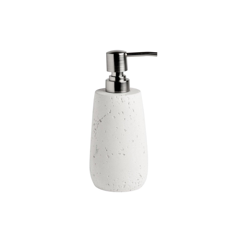 Distributeur de savon céramique Cancun, blanc