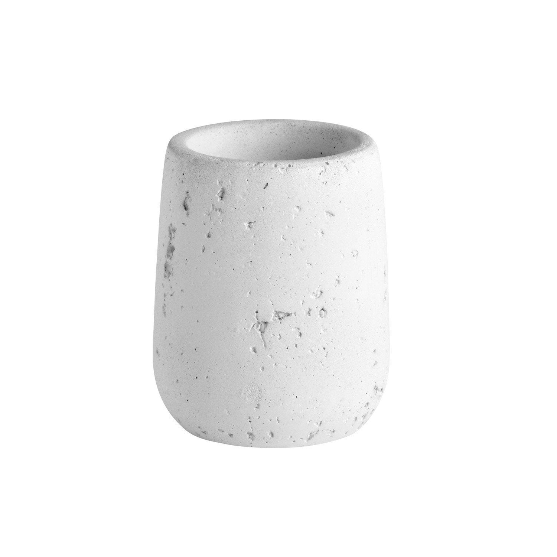 Gobelet céramique Cancun, blanc