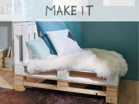diy fabriquer une banquette m ridienne leroy merlin. Black Bedroom Furniture Sets. Home Design Ideas