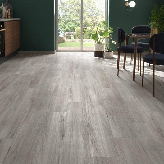 lame pvc clipsable authentic grey gerflor senso premium leroy merlin. Black Bedroom Furniture Sets. Home Design Ideas