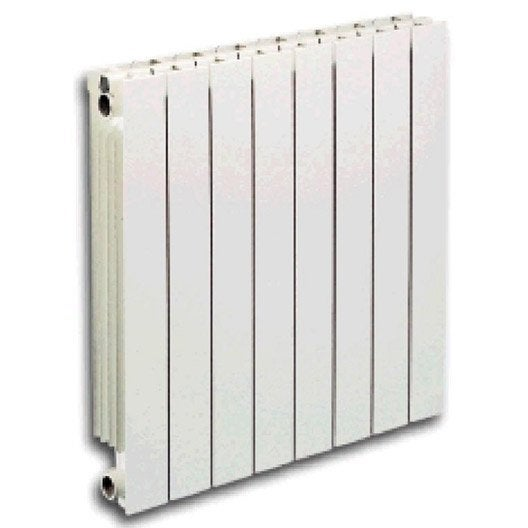 Radiateur chauffage central vip 6 l ments blanc cm for Radiateur de chauffage central