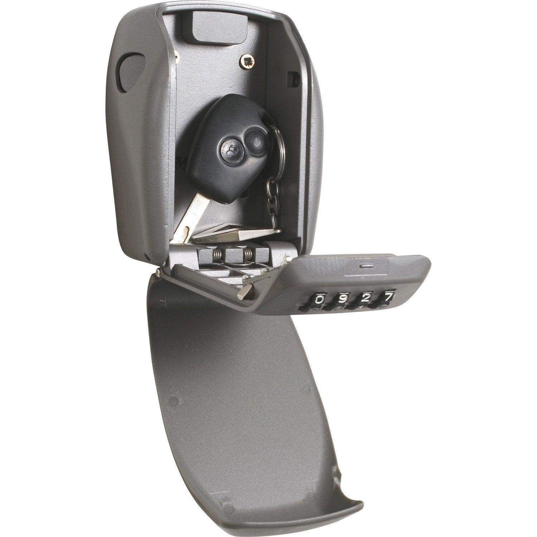 minicoffre masterlock select access à fixer, h.13.5 x l.10.5 x p.3.5