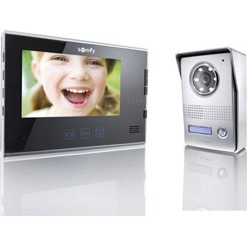 Interphone visiophone 2 fils SOMFY V400
