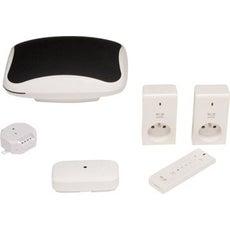 box domotique et kit complet domotique et objets connect s au meilleur prix leroy merlin. Black Bedroom Furniture Sets. Home Design Ideas