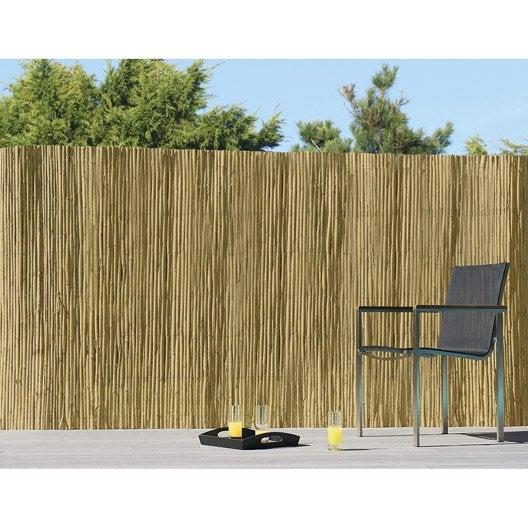 canisse avec attaches splitcane h 200 x l 300 cm leroy merlin. Black Bedroom Furniture Sets. Home Design Ideas