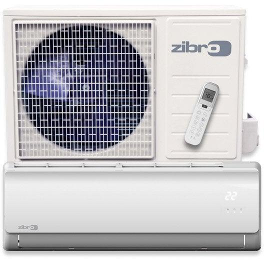 Pompe chaleur air air inverter sc3331 zibro 3100w leroy merlin - Clim inverter leroy merlin ...
