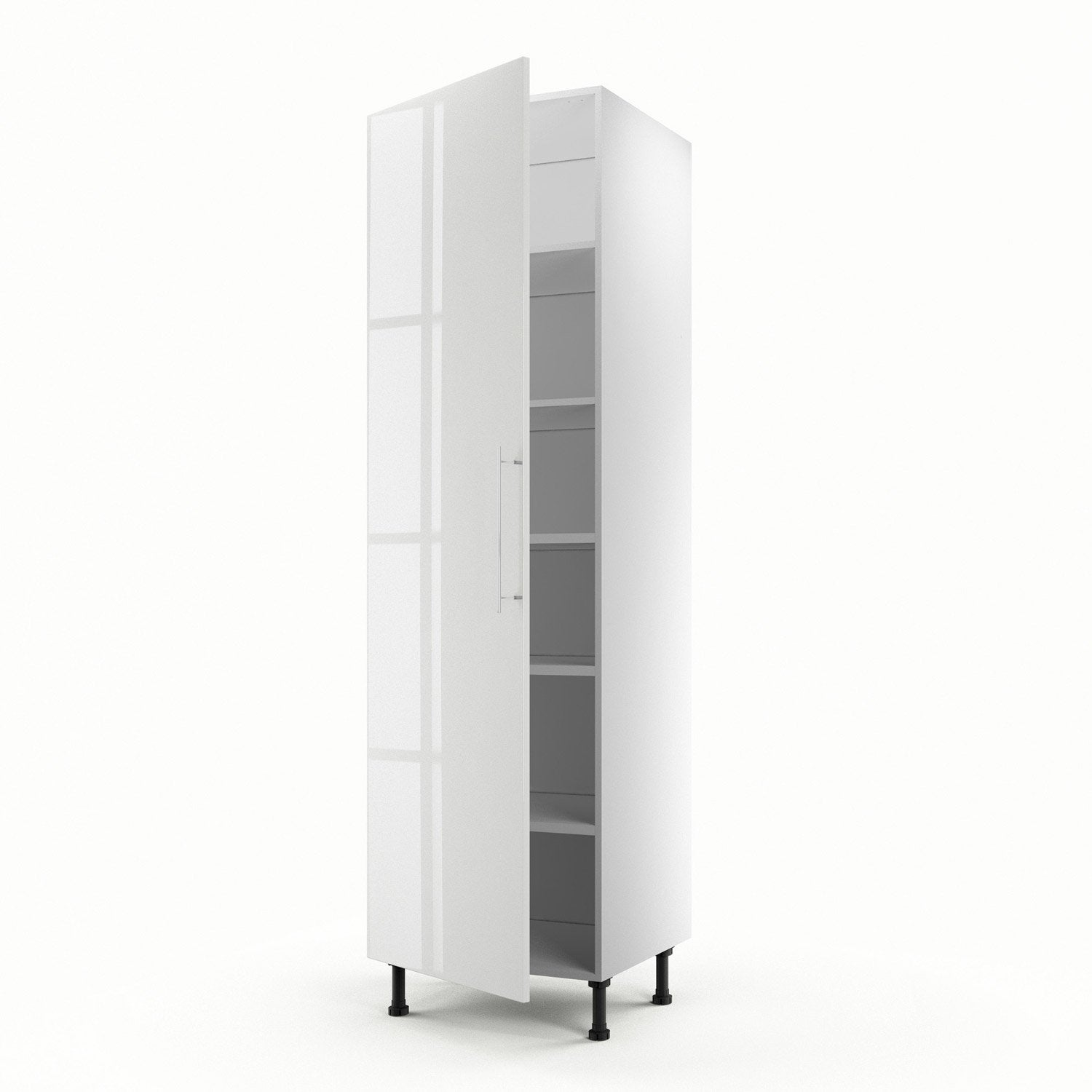meuble de cuisine colonne blanc 1 porte rio x x cm leroy merlin. Black Bedroom Furniture Sets. Home Design Ideas