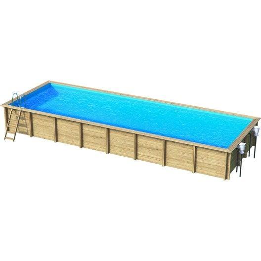 piscine hors sol bois weva x l 4 5 x h m. Black Bedroom Furniture Sets. Home Design Ideas