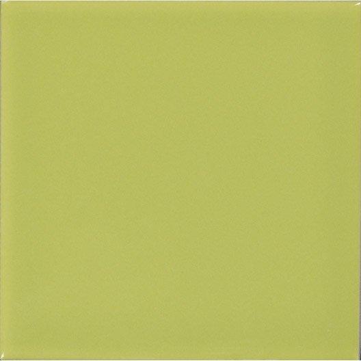 fa ence mur vert pistache n 5 astuce x cm leroy merlin. Black Bedroom Furniture Sets. Home Design Ideas