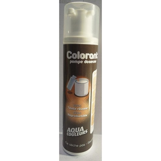 colorant sp cial peinture acrylique aquacouleurs orangeade 100 ml leroy merlin. Black Bedroom Furniture Sets. Home Design Ideas
