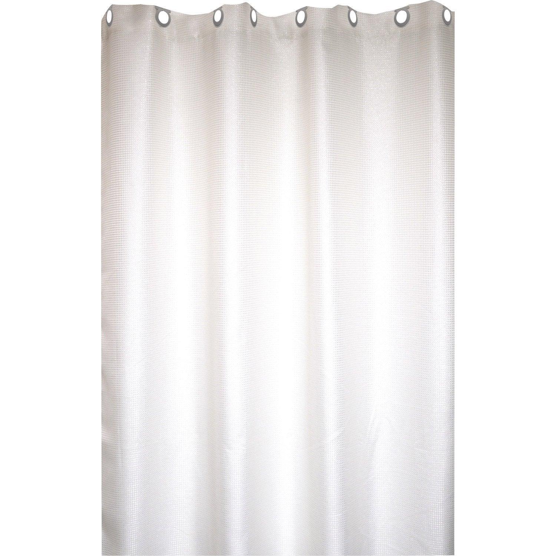 Rideau de douche barre et rideau de douche au meilleur prix leroy merlin - Dimension rideau de douche ...