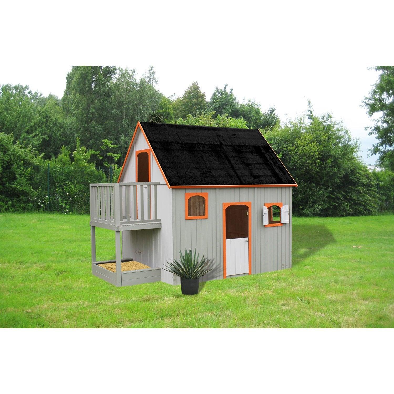 maisonnette en bois leroy merlin fabulous dcouvrez les photos des with maisonnette en bois. Black Bedroom Furniture Sets. Home Design Ideas