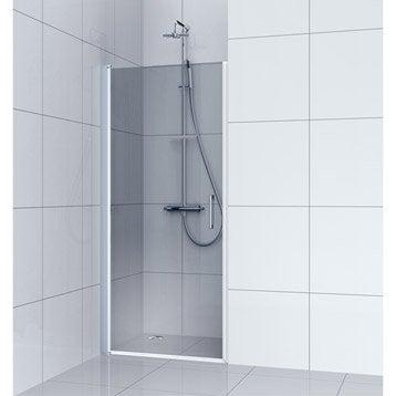 Porte de douche au meilleur prix leroy merlin for Porte pivotante douche