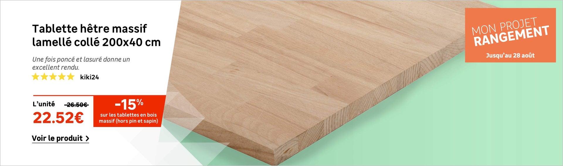 Planche de bois melamin id e int ressante pour la for Planche bois massif leroy merlin
