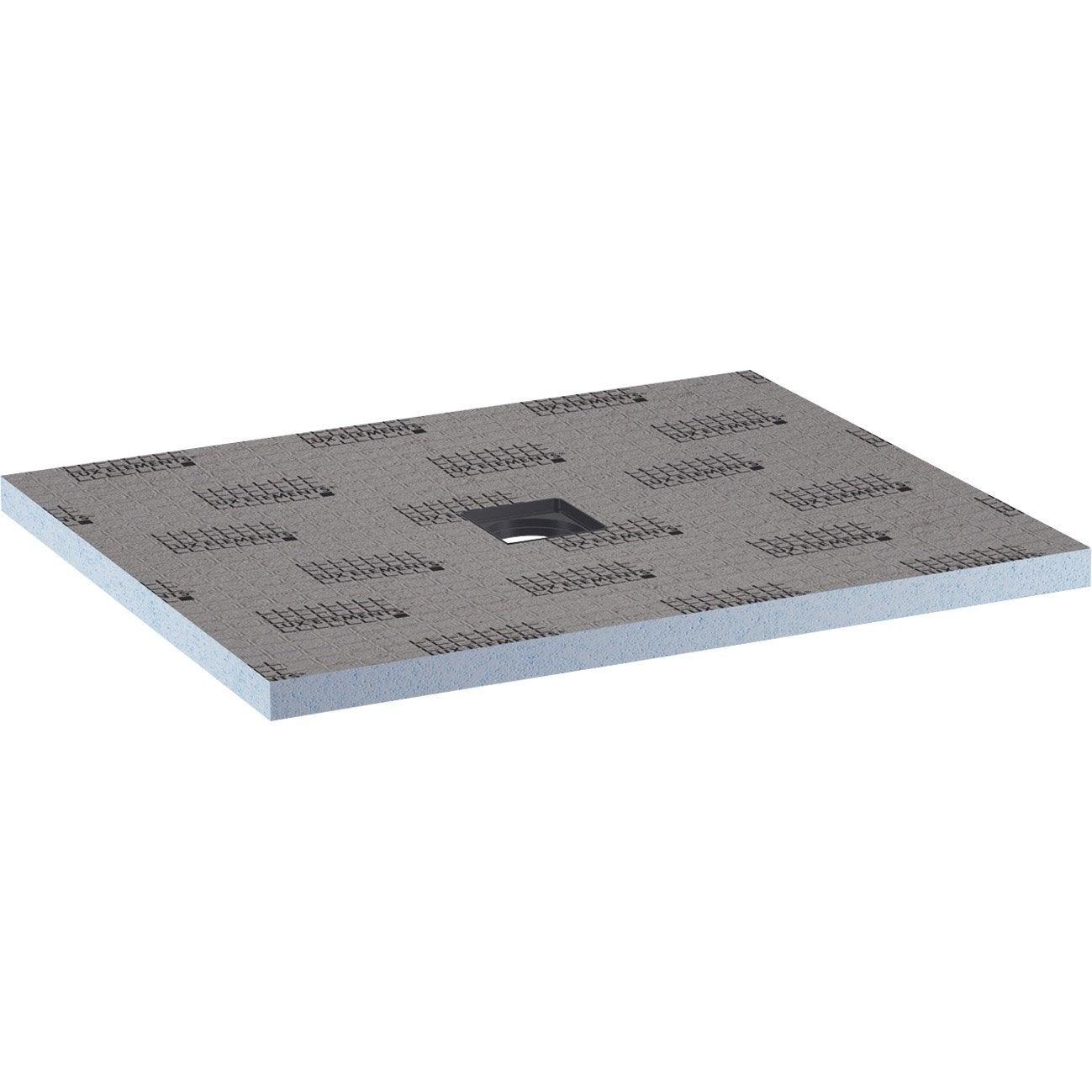 receveur de douche carreler rectangulaire l120 x l90 cm lux elements pack - Plan A Carreler Salle De Bain