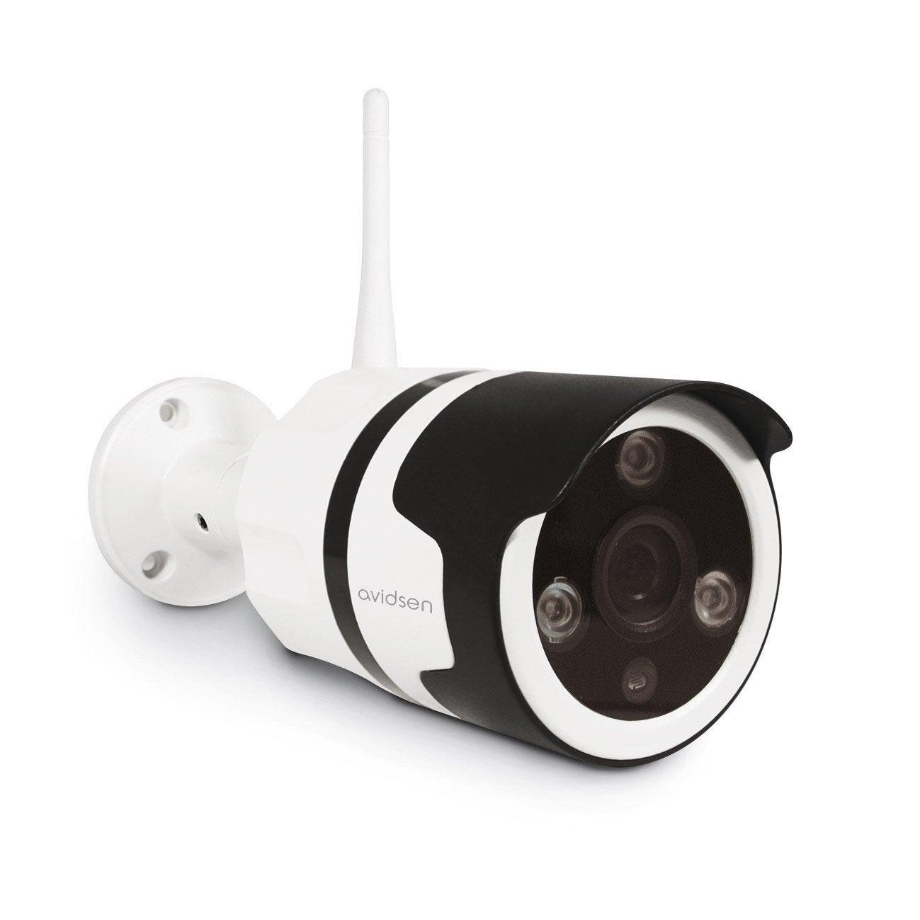 Camera De Surveillance Exterieure Ip Sans Fil 123981 Avidsen Leroy Merlin