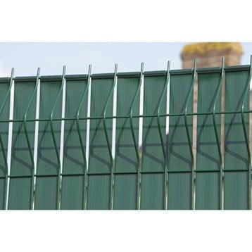 Brise-vue avec attaches LIXO+, H 190 x L 250 cm
