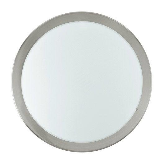 Plafonniers leroy merlin finest ventilateur de plafond for Ventilateur salle de bain sans sortie