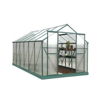 Serre EGT Pivoine polycarbonate double parois, 10.346 m²