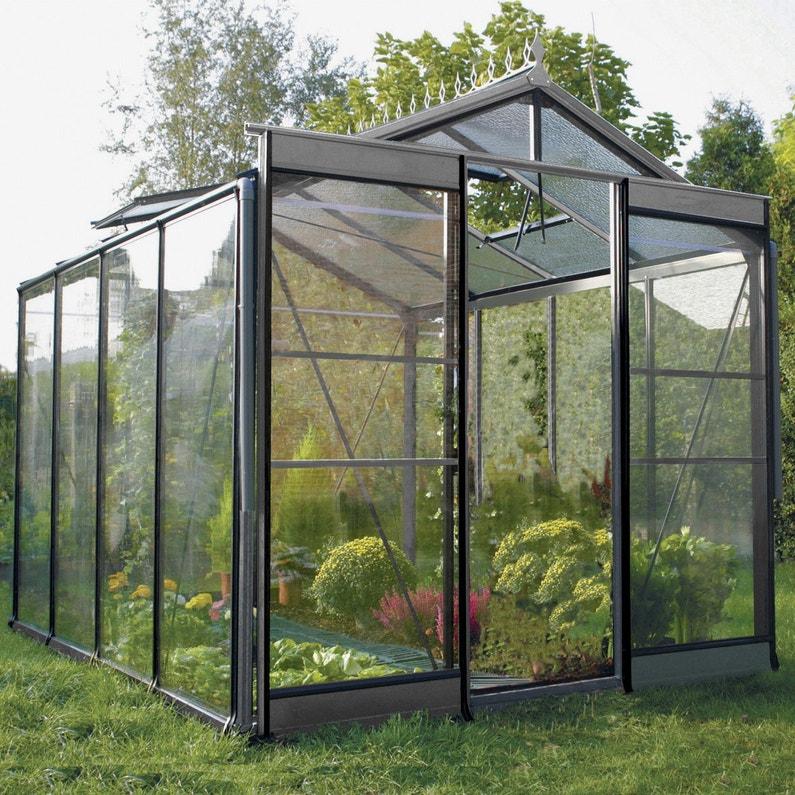 Serre de jardin en verre trempé Affinity, 6.967 m²