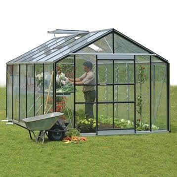 serre de jardin verre horticole tremp mini serre. Black Bedroom Furniture Sets. Home Design Ideas