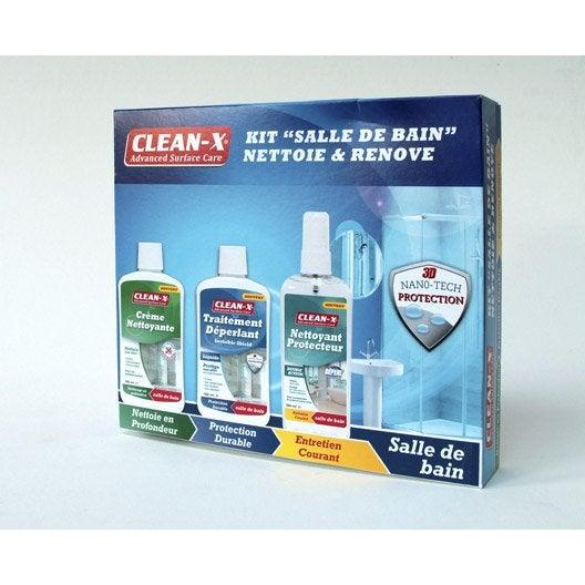 Produits d 39 entretien salle de bains au meilleur prix leroy merlin - Produit deperlant pour vitres ...