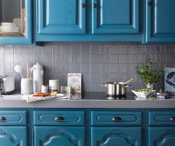 Bien Choisir Sa Peinture Pour Boiseries Intérieures Leroy Merlin - Peinture resine pour meuble de cuisine pour idees de deco de cuisine