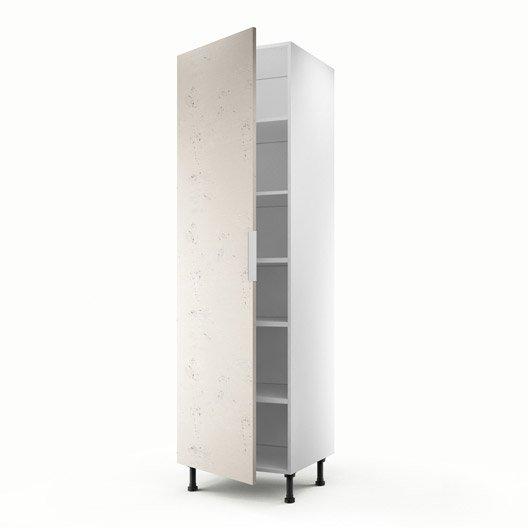 colonne d cor b ton 1 porte loft h200xl60xp56 cm leroy. Black Bedroom Furniture Sets. Home Design Ideas