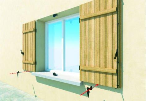 gond volet scellement chimique compltez les arrts de volet with gond volet scellement chimique. Black Bedroom Furniture Sets. Home Design Ideas