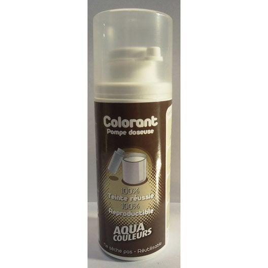 Colorant sp cial peinture acrylique aquacouleurs vert amande 50 ml leroy merlin for Peinture vert amande