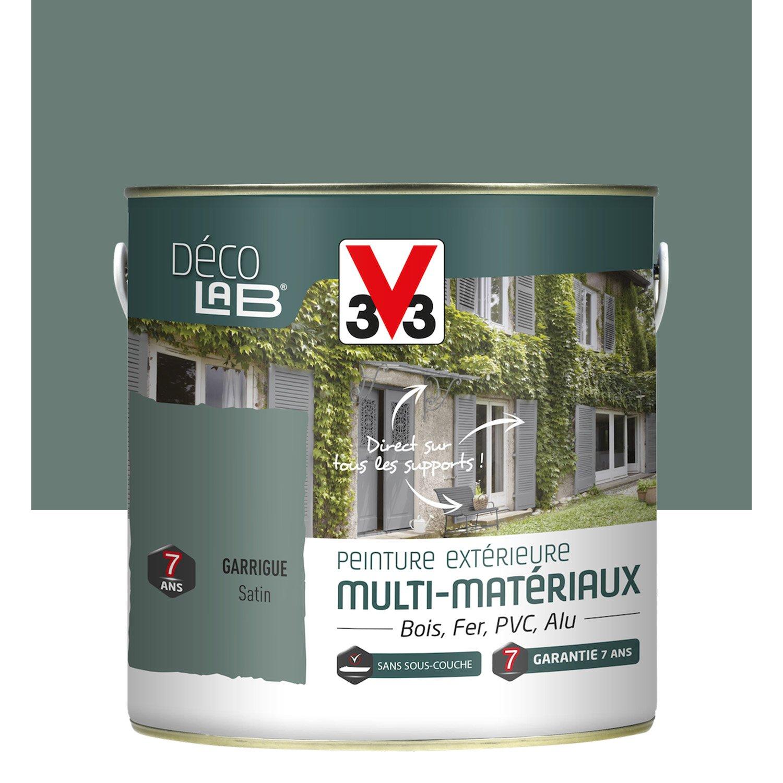 peinture multimat riau ext rieur v33 garrigue 2 l leroy merlin. Black Bedroom Furniture Sets. Home Design Ideas