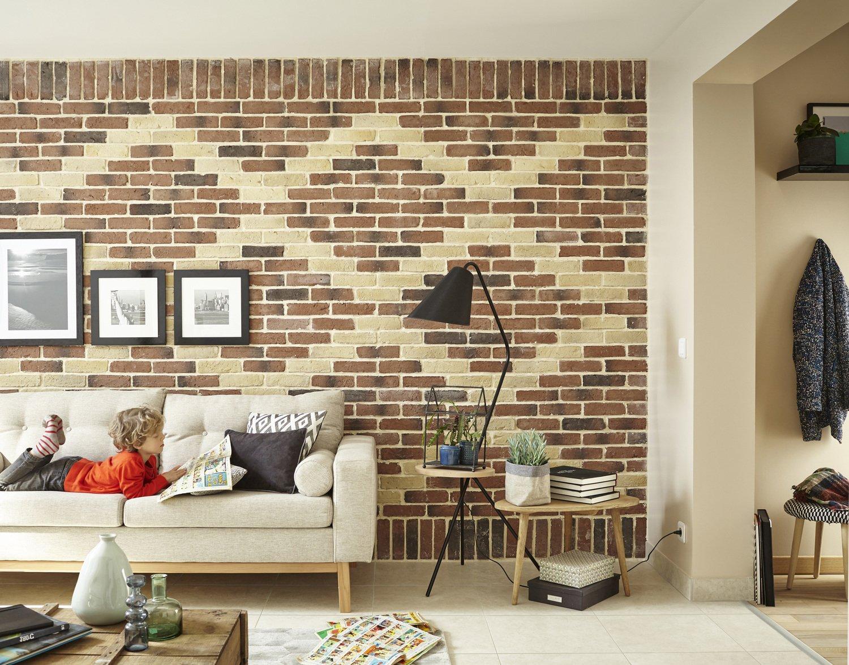 cr er des motifs avec des pierres de parement leroy merlin. Black Bedroom Furniture Sets. Home Design Ideas