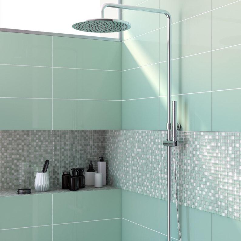 la mosa que vert d 39 eau pour un effet rafraichissant leroy merlin. Black Bedroom Furniture Sets. Home Design Ideas