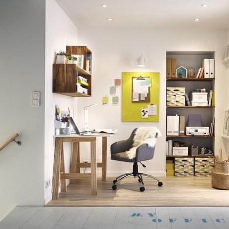 Un bureau optimisé sur le palier