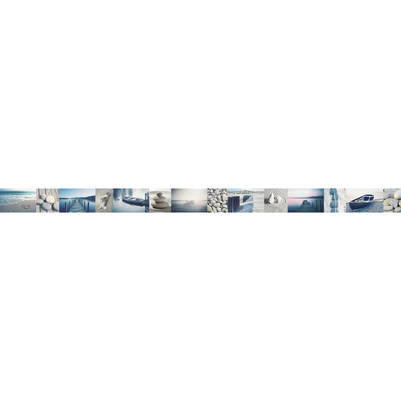 Frise vinyle adhésive Bor de mer L.5 m x l.15 cm | Leroy Merlin