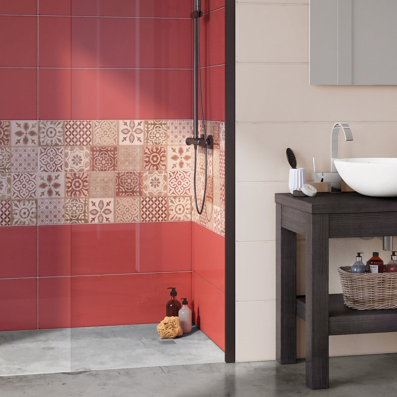 fa ence mur beige haussmann x cm leroy merlin. Black Bedroom Furniture Sets. Home Design Ideas